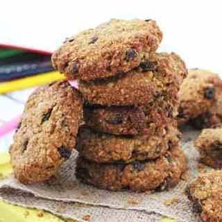 After School Oat & Raisin Cookies