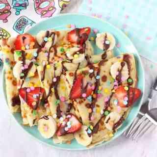 Confetti Sprinkle Pancakes
