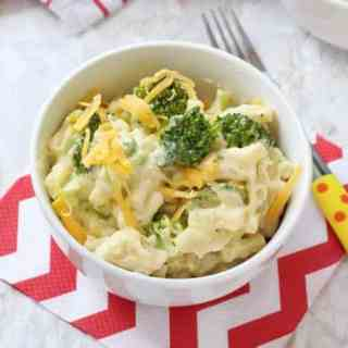 Broccoli Mac & Cheese | 15 Minute Meal