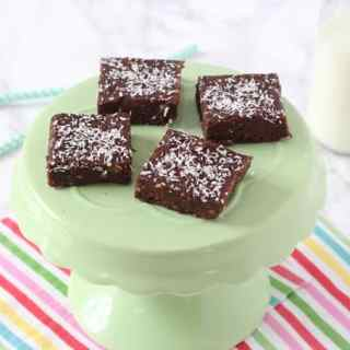 Healthy Chocolate Brownie Bites