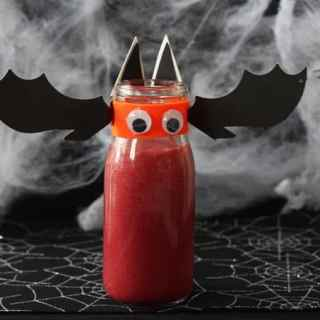 Bat Blood Smoothie – Halloween Smoothie for Kids