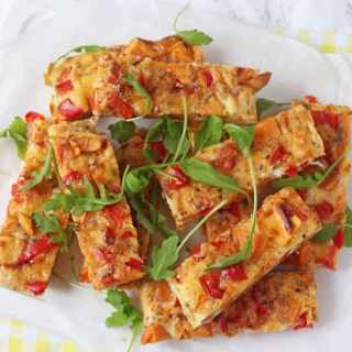 Sweet Potato Frittata Slices
