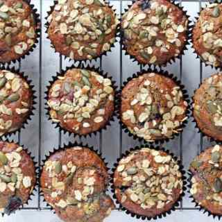Healthy Berry Breakfast Muffins