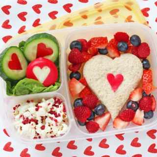 Valentine's Day Packed Lunch for Kids