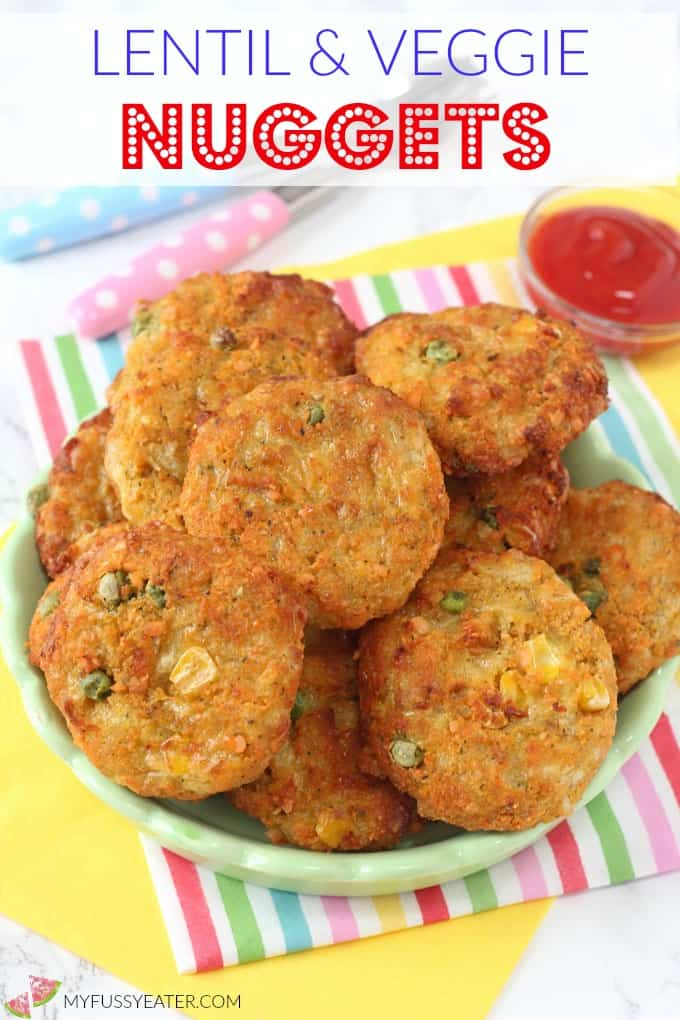 Lentil Veggie Nuggets for Kids