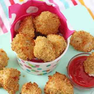 Crispy Baked Quinoa Chicken Nuggets