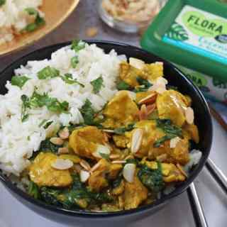 Coconut & Almond Chicken Curry