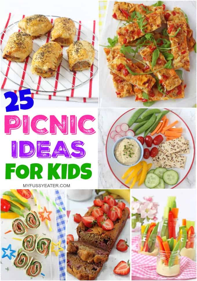 Kids picnic food for Picnic food ideas for large groups