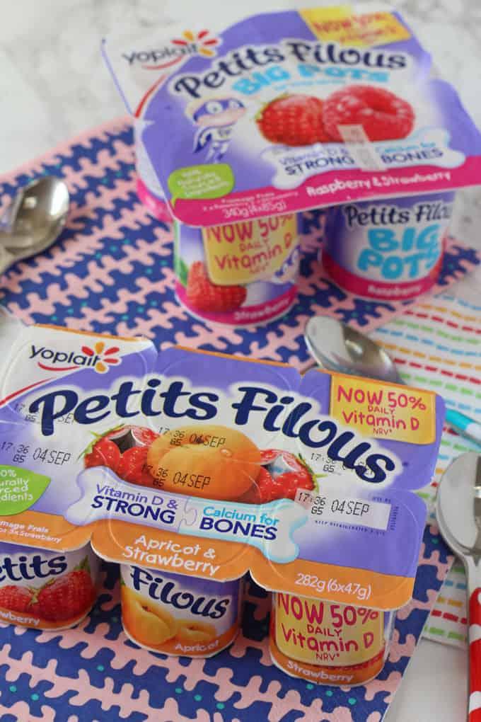 Petits Filous Goodness - Less Sugar and More Vitamin D