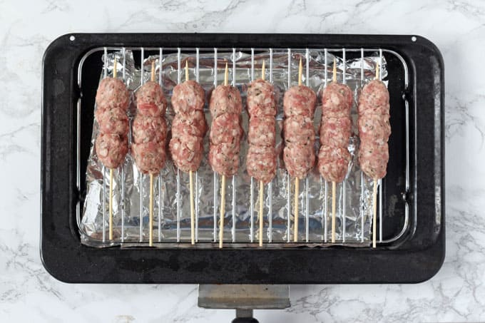 Lamb Koftas for dinner made super easy with my little cheat's hack!