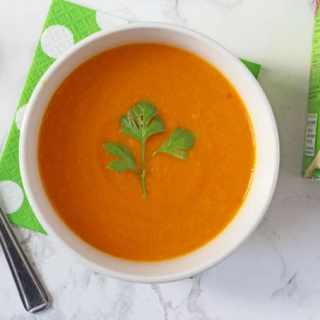 Thai Carrot & Coconut Soup with Heinz