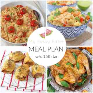 Family Meal Plan w/c 15th January 2018