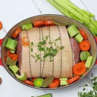 Marmalade Glazed Ham with Leftovers
