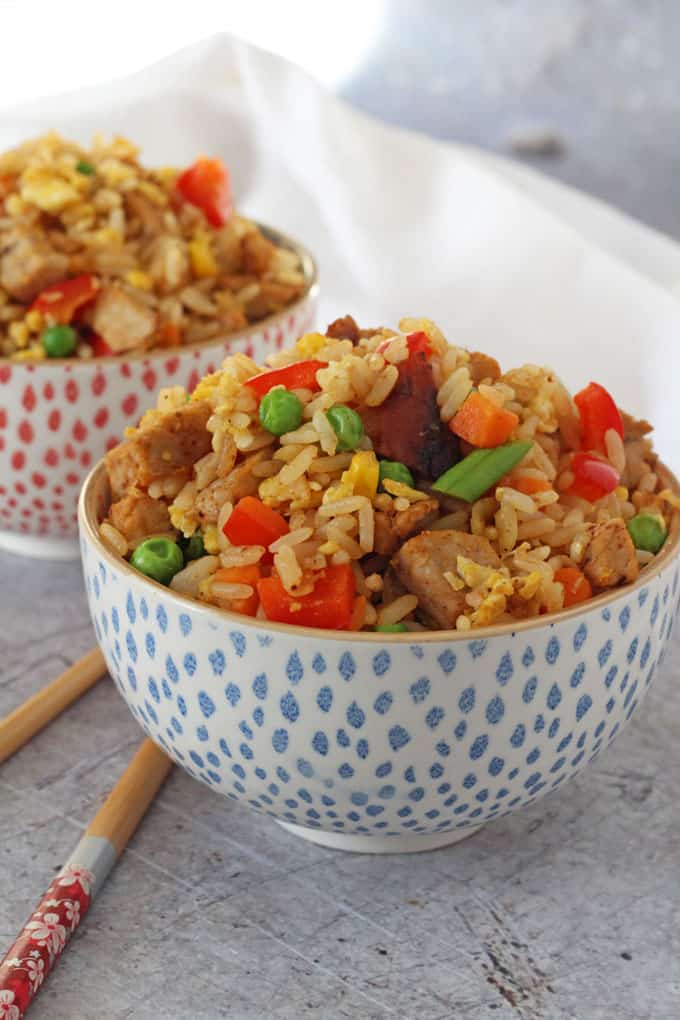 Easy Chinese Pork Fried Rice