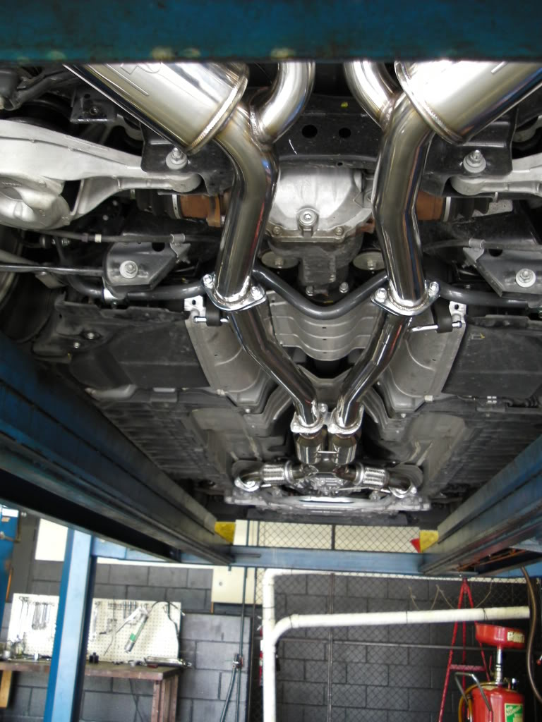review ark grip exhaust g37 coupe myg37