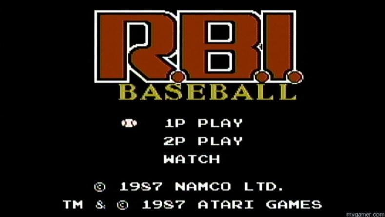 R.B.I. Baseball (NES) Review R.B.I. Baseball (NES) Review RBI Baseball NES logo