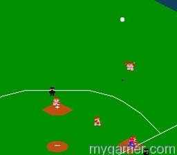 The AI will call it in the air R.B.I. Baseball (NES) Review R.B.I. Baseball (NES) Review RBI Baseball NES ScreenShot2