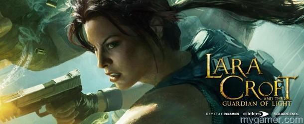LaraCroft Guar Light Banner