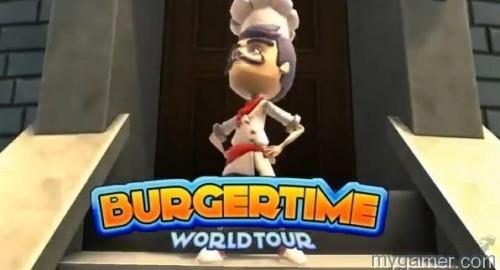 burger time world tour