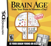 Brain Age: Train Your Brain in Minutes A Day Brain Age: Train Your Brain in Minutes A Day 551938SquallSnake7