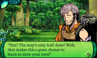Etrian Odyssey IV: Legends of the Titan, First American Screens and Font Problems...? Etrian Odyssey IV: Legends of the Titan, First American Screens and Font Problems…?  eo4 screens pickingafont 001