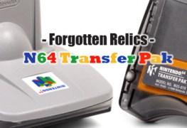 Forgotten Relics N64 Transfer Pak Banner
