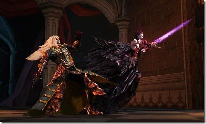 These sword enemies are a pain Castlevania Lords of Shadow: Mirror of Fate (3DS) Review Castlevania Lords of Shadow: Mirror of Fate (3DS) Review Castlevania Mirror of Fate Screen2