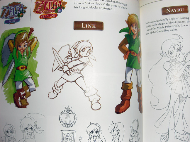 Many hand drawings are in this book