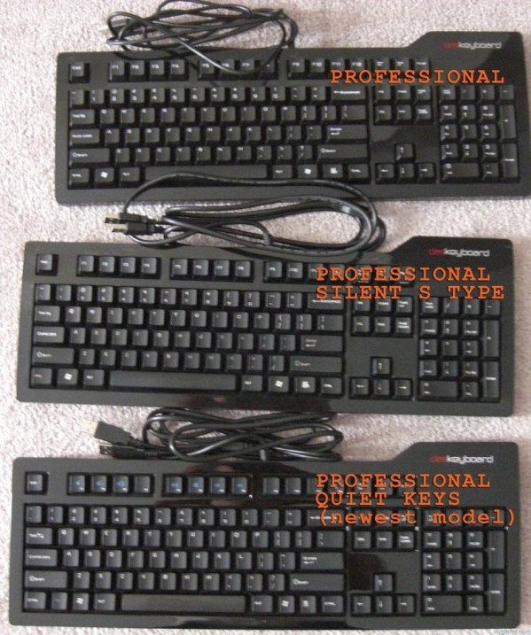 Previous Das Keyboard units. Pretty much retain the same design.