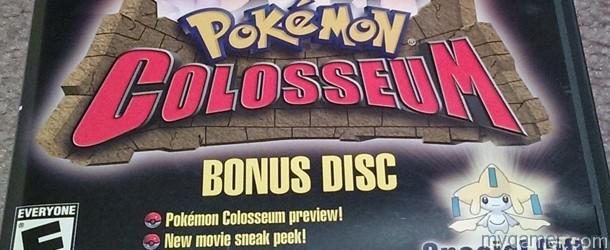 Pokemon Col Bonus Disc Banner