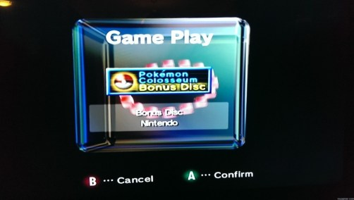 GC Main Menu Forgotten Relics: Pokemon Colosseum Bonus Disc (GC) FORGOTTEN RELICS – Pokemon Colosseum Bonus Disc (GC) Pokemon Colosseum Play 1024x579