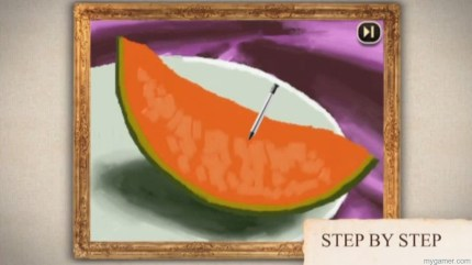 Heh, melons...  Art Academy: Lessons for Everyone (3DS) Review Art Academy: Lessons for Everyone (3DS) Review Art Academy Melon 1024x573