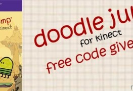 We are giving away Doodle Jump Kinect codes! We are giving away Doodle Jump Kinect codes! DoodleJump Giveaway Banner