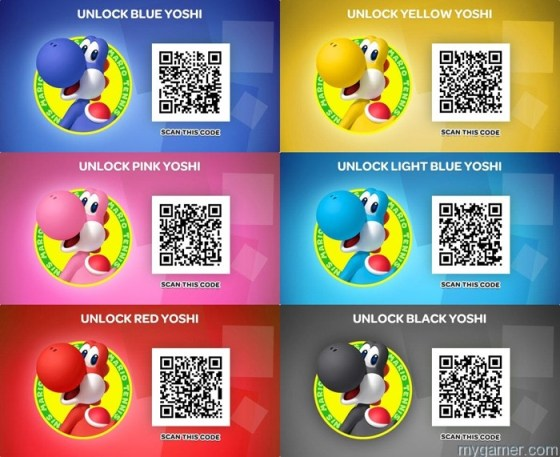 Scanning QR codes can unlock new skins