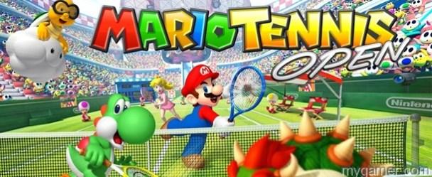 Mario Tennis Open (3DS) Review Mario Tennis Open (3DS) Review Mario Tennis Open banner