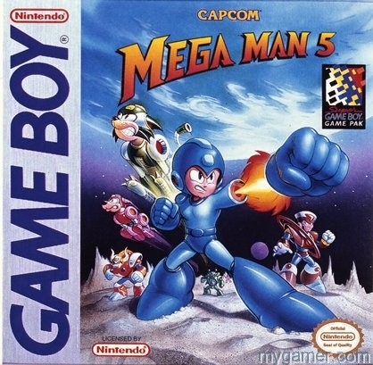 Mega Man will give you the fist
