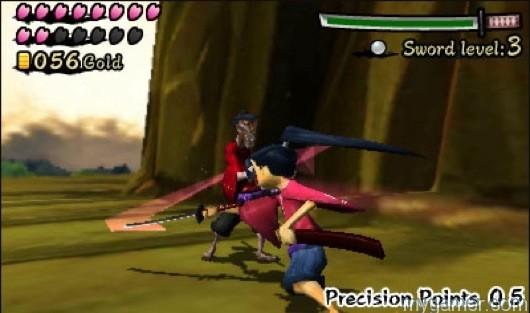 Linking Precision Points can be frustrating Sakura Samurai: Art of the Sword (3DS eShop) Review Sakura Samurai: Art of the Sword (3DS eShop) Review Sakura Samurai Precison Pts