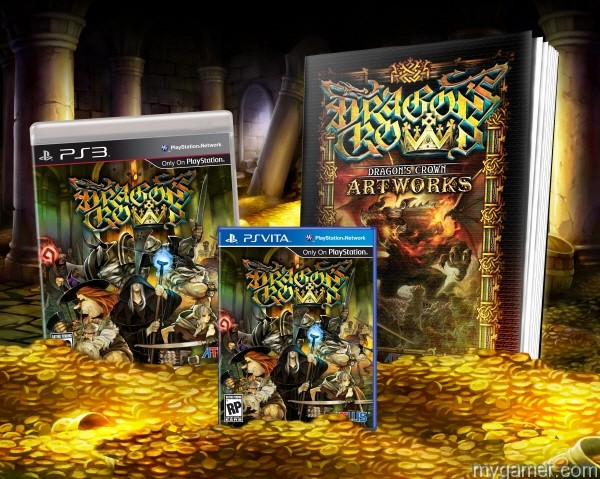 Oooooh, pretty...  myGamer Will be Streaming Dragon's Crown Tonight 7-31-13 myGamer Will be Streaming Dragon's Crown Tonight 7-31-13 dragonscrown coverglam