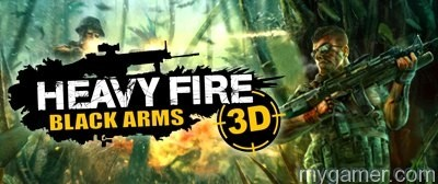 Heavy Fire Black Arms 3D now on 3DS eShop Heavy Fire Black Arms 3D now on 3DS eShop Banner
