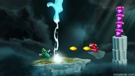 Globox_Luigi_Olympus Rayman Legends Dresses Up As Mario and Luigi Rayman Legends Dresses Up As Mario and Luigi Globox Luigi Olympus