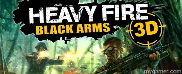 Heavy Fire Black Arms 3D Banner