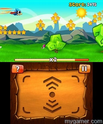 Don't even bother looking at the touch screen Bird Mania 3D – 3DS eShop Review Bird Mania 3D – 3DS eShop Review Bird Mania Screens