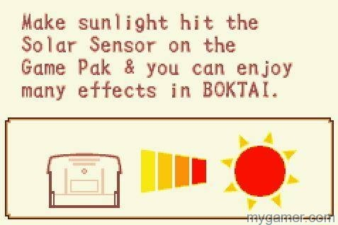 How to use the solar sensor Boktai: The Sun Is In Your Hands 10th Anniversary Boktai: The Sun Is In Your Hands 10th Anniversary Boktai HowTo