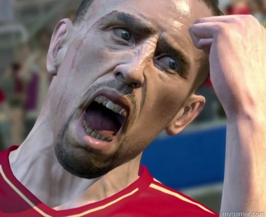 Creepy or detailed?  You make the call.  Pro Evolution Soccer 2014 Preview Pro Evolution Soccer 2014 Preview PES 2014 Character