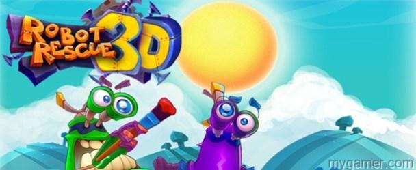 Robot Rescue 3D 3DS eShop Review Robot Rescue 3D 3DS eShop Review Robor Rescue 3D banner