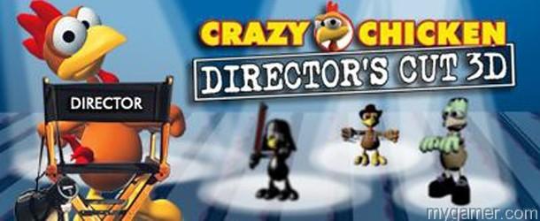Crazy Chickens Directors Cut Banner