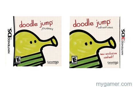 Doodlejump Jumping on DS and 3DS in 2013 Doodlejump Jumping on DS and 3DS in 2013 Doodle Jump DS 3dS banner