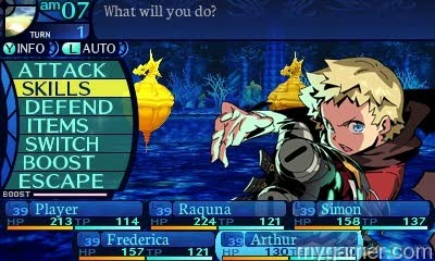 Expect to spend some time in the menus Etrian Odyssey Untold: The Millennium Girl (3DS) Review Etrian Odyssey Untold: The Millennium Girl (3DS) Review EtrianOdysseyUntoldArthur02