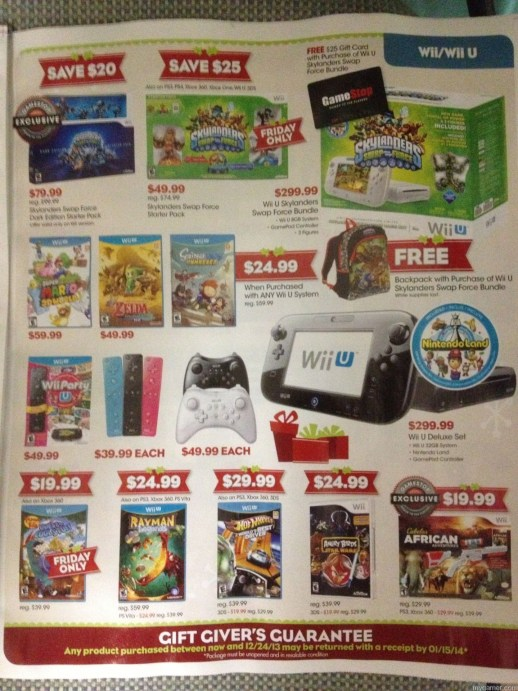 Page1 Gamestop 2013 Black Friday Ad Leaked! Gamestop 2013 Black Friday Ad Leaked! Gamestop Black Friday 2013 1