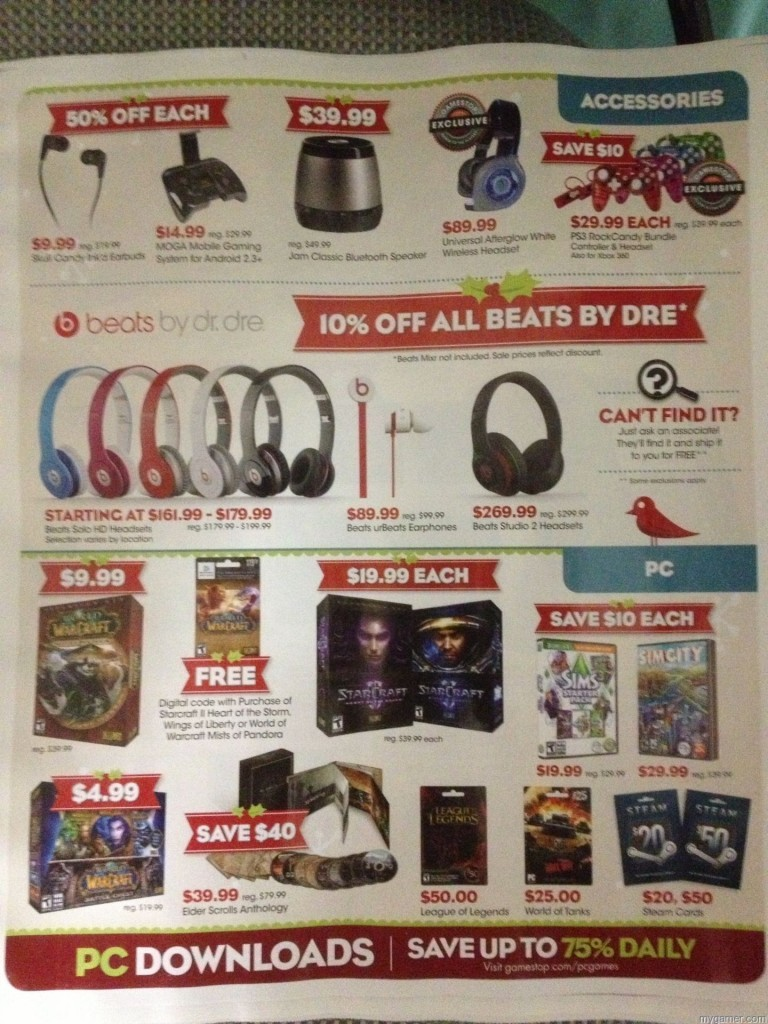 Page11 Gamestop 2013 Black Friday Ad Leaked! Gamestop 2013 Black Friday Ad Leaked! Gamestop Black Friday 2013 11 768x1024